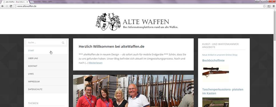 424a1c2ec567d3 Neues von unserem Blog alteWaffen.de - Kunst- und Waffenkammer