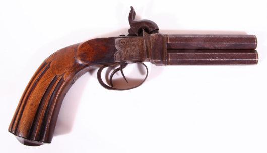 12867 - Perkussionsbockpistole