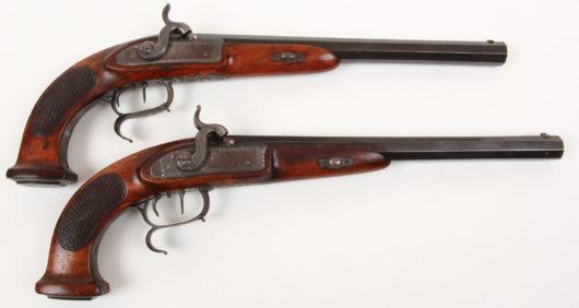 14812 - Paar Perkussionspistolen