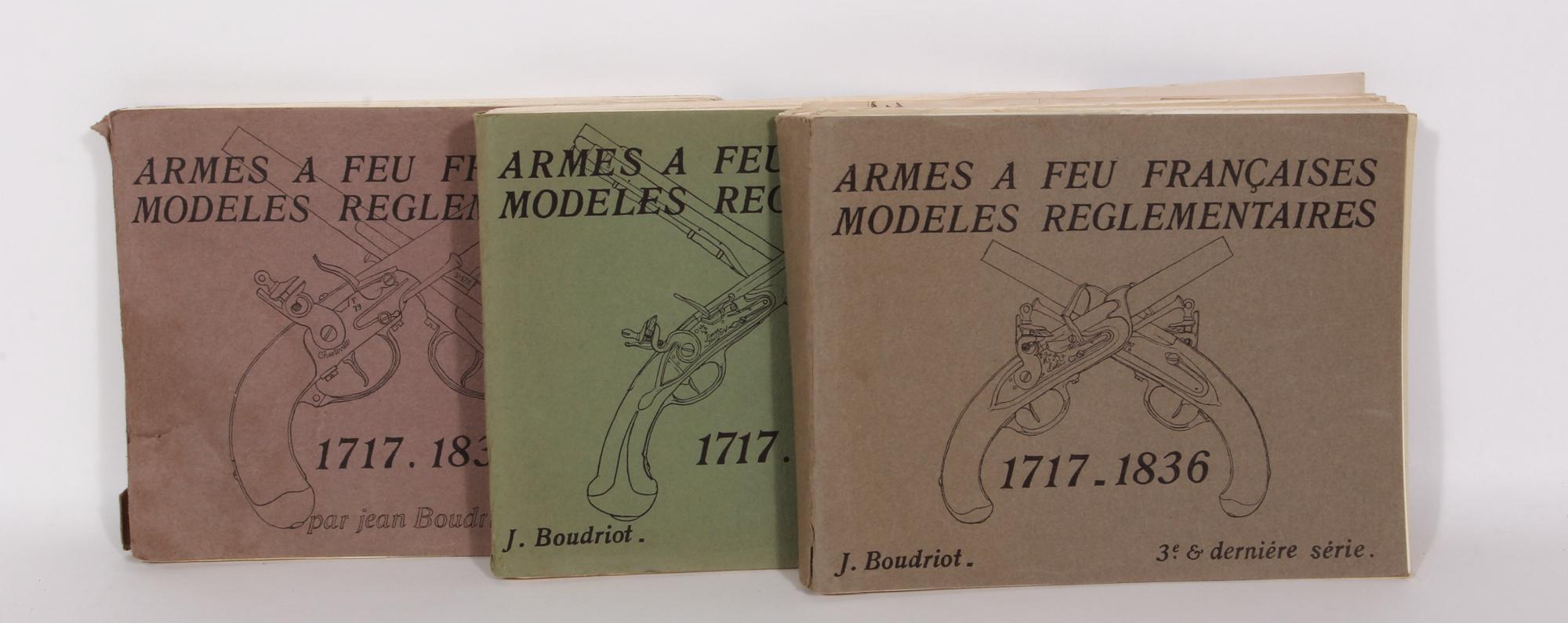 Antiquariat: Armes a Feu Francaises Modeles Reglementaires 1717-1836