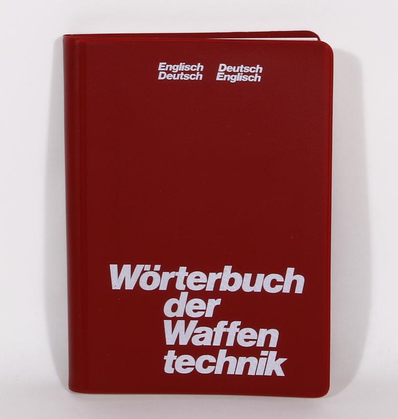 Antiquariat: Wörterbuch der Waffentechnik