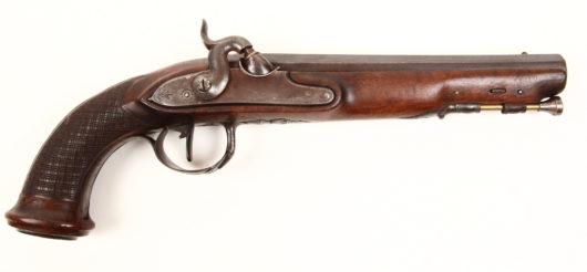 14279 - Pistolet des Gendarmes de  la Garde M 1814