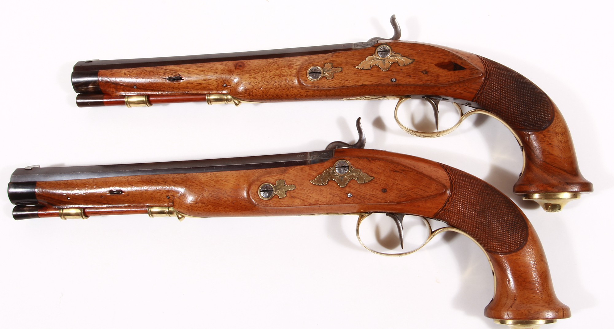 Paar Perkussionspistolen