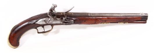 13947 - Steinschlosspistole
