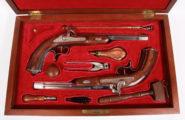 Paar Perkussionspistolen i.Kasten