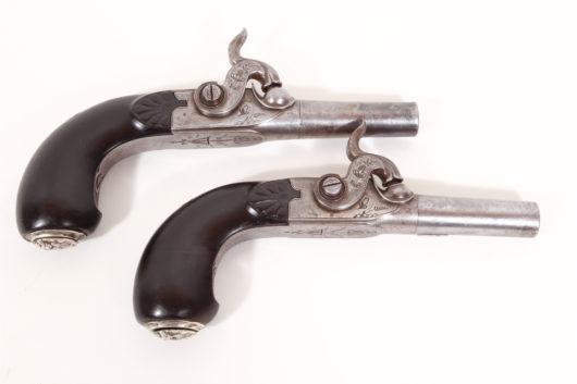 15080 - Paar Perkussionsreisepistolen