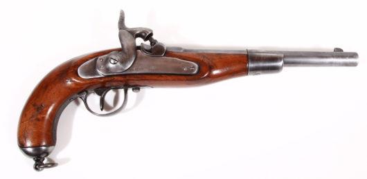 15217 - Perkussions- Ulanenpistole M 1870 Sachsen
