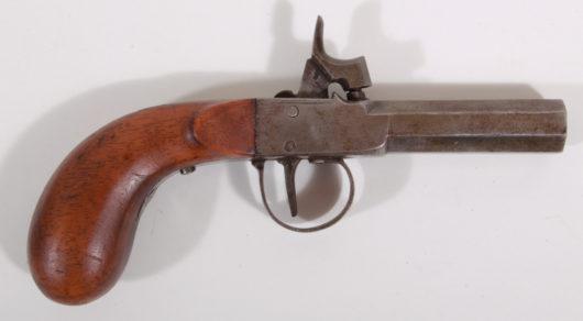 13192 - Perkussionstaschenpistole