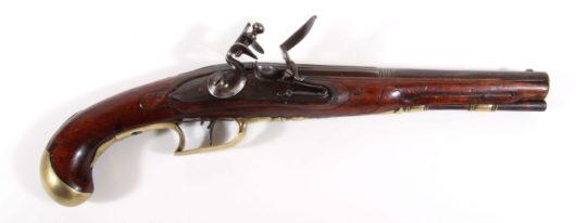 14798 - Steinschlosspistole deutsch 1780