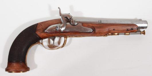 13501 - Perkussionspistole deutsch ca. 1800/1840