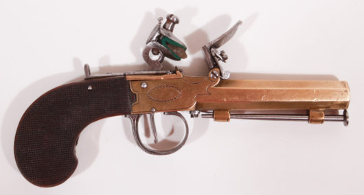 14684 - Steinschlosstaschenpistole