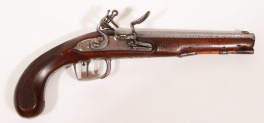 15033 - Steinschlosspistole deutsch um 1790