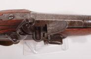 Steinschlossoffizierspistole  ca. 1790