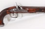 Perkussionspistole wohl deutsch 1800/1840