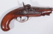Perkussionsreisepistole deutsch ca. 1750/1840