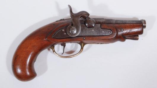 13693 - Perkussionsreisepistole deutsch ca. 1750/1840