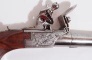 Steinschlosstaschenpistole wohl deutsch um 1780