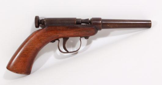 15318 - Perkussionspistole deutsch Anfang 20. Jh
