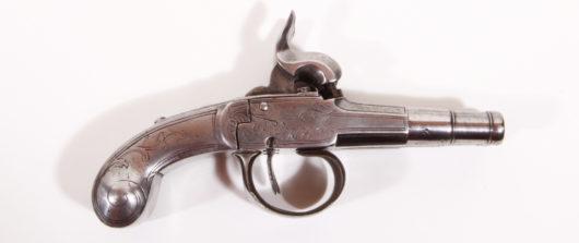 15176 - Doppelläufige Ganzmetallpistole