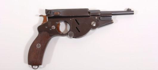 15265 - Pistole Bergmann Mod. 1896 No. 3
