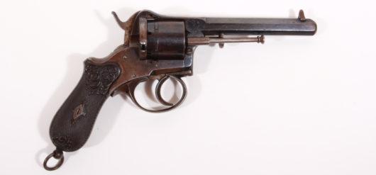 15298 - Lefaucheux Revolver, wohl deutsch, 1870