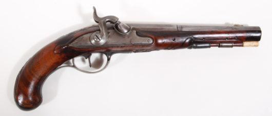 14661 - Perkussionspistole deutsch ca. 1780/1840