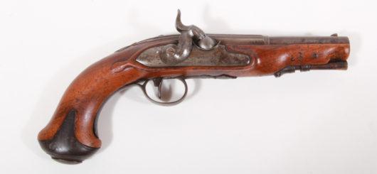15506 - Perkussionspistole süddeutsch 1800/1840