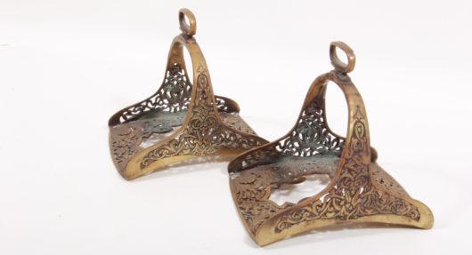 15518 - Paar Steigbügel, Osmanisches Reich um 1800