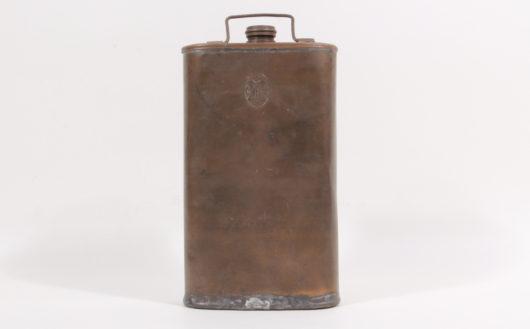15533 - Militärische Trinkflasche, wohl Schweiz Mitte 19.Jh.