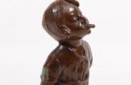 """Wiener Bronze Ernst Beck """"Angst"""""""