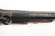 Perkussionspistole Weber-Ruesch Zürich um 1850