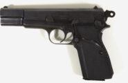 Halbautomatische Pistole FN Browningpatent