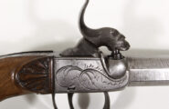 Perkussionstaschenpistole um 1850
