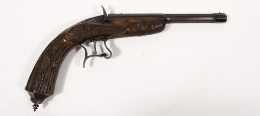15947 - Salon- und Scheibenpistole, Frankreich 1865