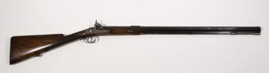 15959 - Einlauf- Doppelbuechse ca. 1850