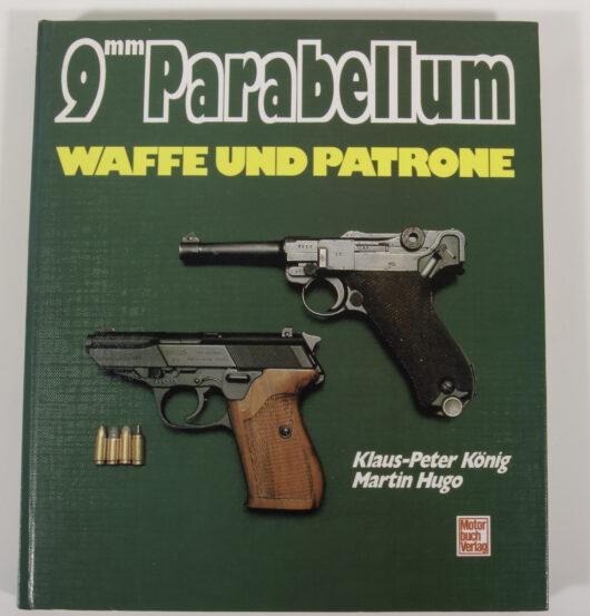 9mm Parabellum Waffe und Patrone