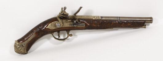 16081 - Brescianer Luxus Steinschlosspistole Replika