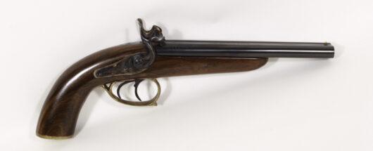 15915 - Doppelläufige Corsair Perkussionspistole