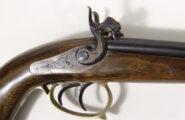 Doppelläufige Corsair Perkussionspistole