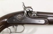 Perkussionspistole Replika im französischen Stile um 1850