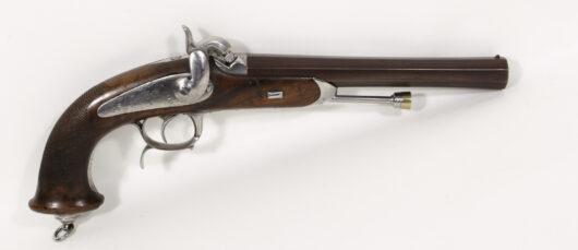 16214 - Perkussionsoffizierspistole Frankreich M 1833