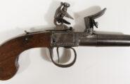 Steinschlosstaschenpistole Lüttich um 1800