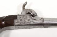 Perkussionstaschenpistole wohl Frankreich 1840