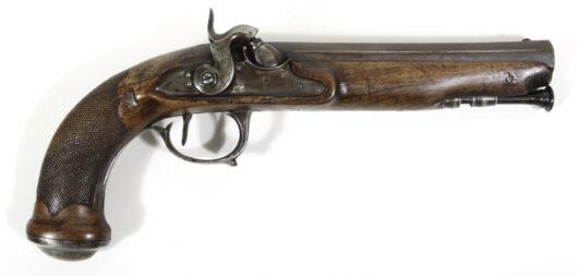 15329 - Perkussionspistole Frankreich um 1800/1840