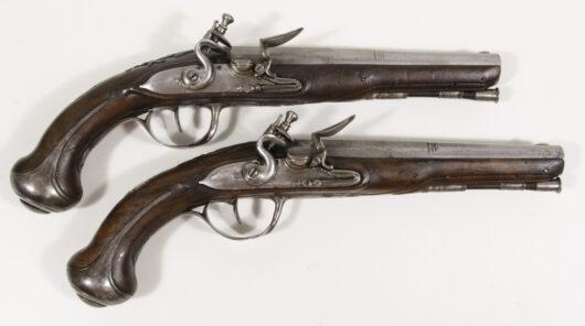 15664 - Paar Steinschlosspistolen Frankreich um 1790
