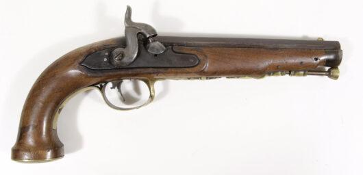 16078 - Perkussionspistole süddeutsch 1800/1840