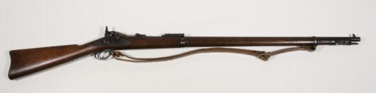 16549 - US Springfield Mod. 1884 Experimental Ramrod Bayonet Rifle